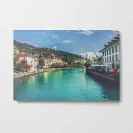 Thun, Switzerland - 1 Metal Print