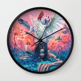 Symphony #4 AM Wall Clock