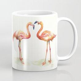 Hipster Flamingo by Michelle Scott of dotsofpaint studios Coffee Mug