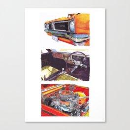 Holden GTS Set Canvas Print