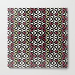 Flower of Life Pattern 5 Metal Print