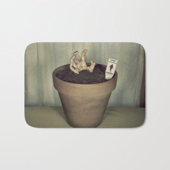 Zombie Plant Bath Mat