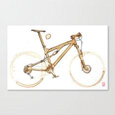 Coffee Wheels #00 Canvas Print
