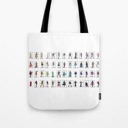 Fashion Rainbow Tote Bag