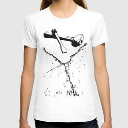 Chipping away T-shirt