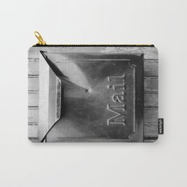 Mail - Black and White Carry-All Pouch