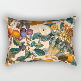 Vintage Fruit Pattern IX Rectangular Pillow