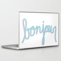 bonjour Laptop & iPad Skins featuring Bonjour by radiantlee