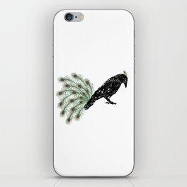 Funny Crow iPhone Skin