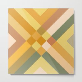 urban tribal pattern #society6 #decor #buyart #artprint Metal Print