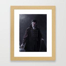Vampire of the Mists Framed Art Print