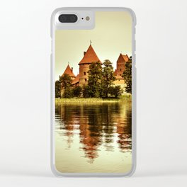Trakai Castle Clear iPhone Case