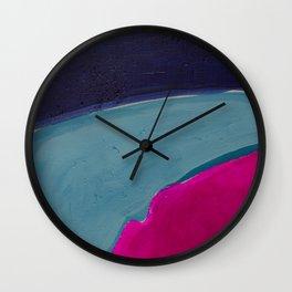 Colour Fields 1 Wall Clock