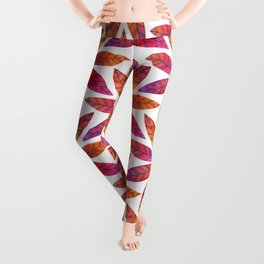 Ring of Leaves - Fall Colors Leggings