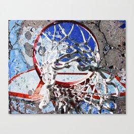 Basketball Sports Art Canvas Print