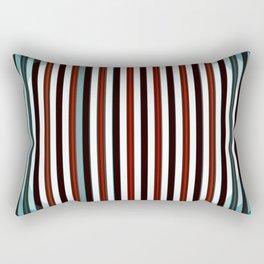 Abstract color design print Rectangular Pillow