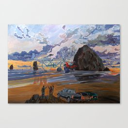 Dusk of Memories Canvas Print