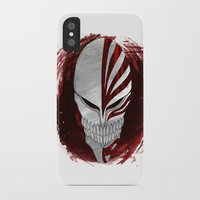 bleach iPhone & iPod Cases featuring Bleach - Hollow by Bradley Bailey