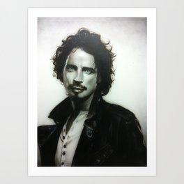 'Chris Cornell' Art Print