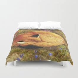 The Cozy Fox Duvet Cover