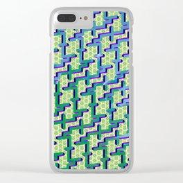 Cactus Hulks Clear iPhone Case