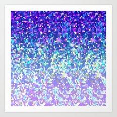 Glitter Graphic G209 Art Print