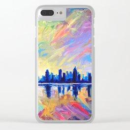 Brilliant Dawn Clear iPhone Case