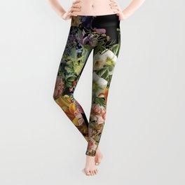 Lush Baroque Floral Leggings