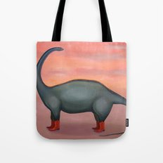 Broncosaurus 'Creature of the West' Tote Bag