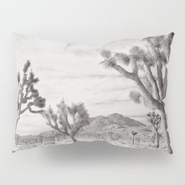Joshua Tree Grey By CREYES Pillow Sham