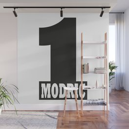 Luka Modric named number 1 of the world Wall Mural