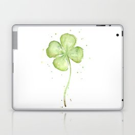 Four Leaf Clover Laptop & iPad Skin