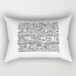 Box City  Rectangular Pillow
