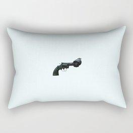 Non-violence Revolver Rectangular Pillow