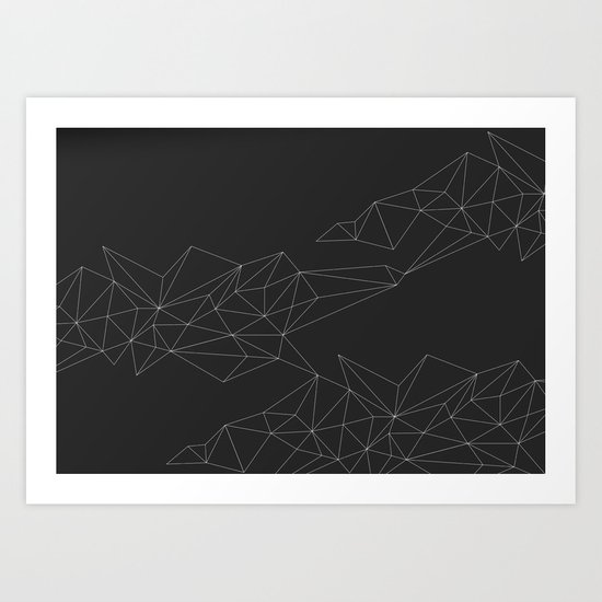 Connections 1 Art Print