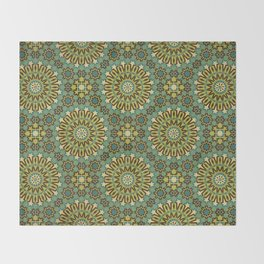 Alhambra Double Star Pattern Throw Blanket