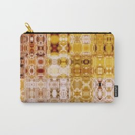 Boho Amber Gypsy Mosaic | Retro | Nadia Bonello | Canada Carry-All Pouch