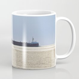Big Ship Close to Shore Coffee Mug