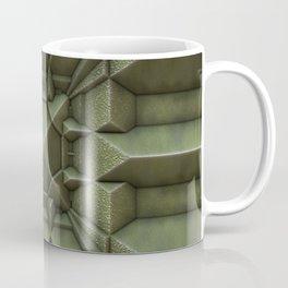 Industrial Green Tile  Coffee Mug