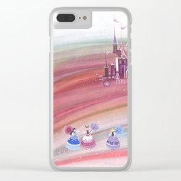 Three princesses Clear iPhone Case