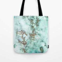 MARBLE - INKED INCEPTION - GOLD & ICE Tote Bag