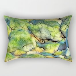 Stranded Weed Rectangular Pillow