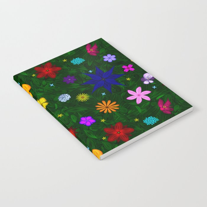 Flying Above the Garden Notebook