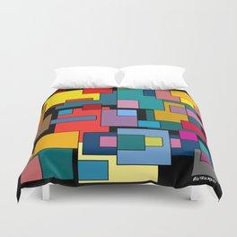 Color Blocks #4A Duvet Cover