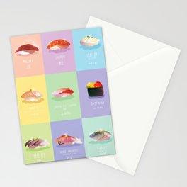 Omakase Sushi Stationery Cards