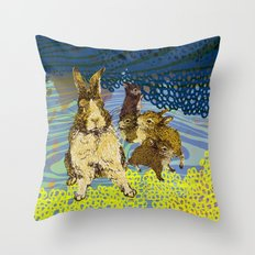 little family Throw Pillow