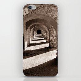 Corridors of Stone iPhone Skin