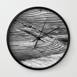 Petrified Dune Wall Clock