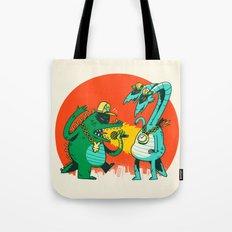 Kaiju Rap Battle Tote Bag