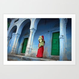 Mother India Art Print